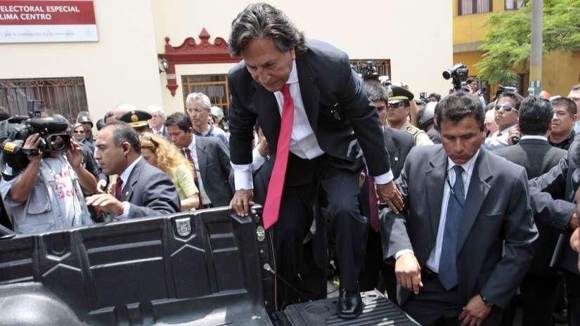 Fiscalía presentó acusación y nuevo pedido de extradición contra Toledo por caso Ecoteva