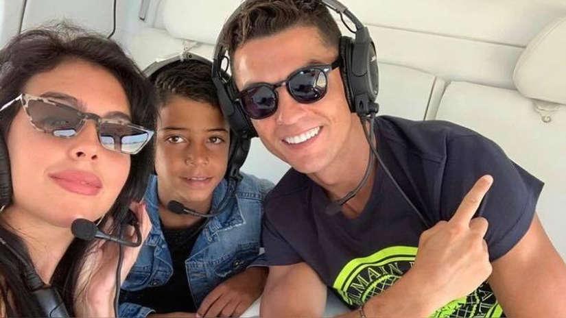 Cristiano Ronaldo y Georgina Rodríguez disfrutan de sus vacaciones en Grecia