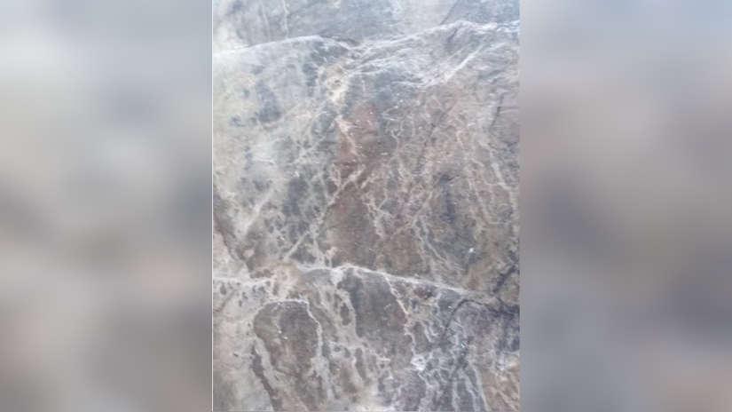 Pintura rupestre a punto de desaparecer tras incendio forestal en Ollantaytambo