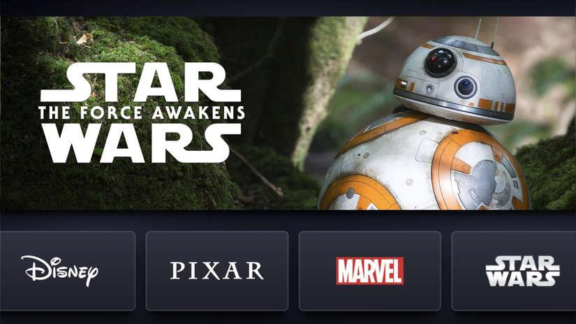 Disney+: Así luce por dentro la competencia de Netflix