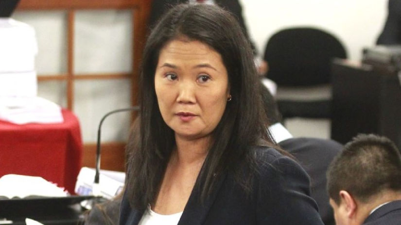 Keiko Fujimori fue internada en clínica Centenario por problemas cardíacos