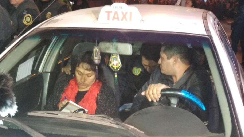 Taxista recreó con la PNP recorrido que realizó para recoger a autores de descuartizamiento en SMP