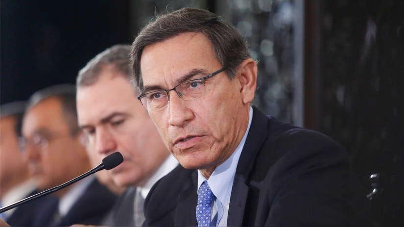 Ipsos | Aprobación a gestión de Martín Vizcarra bajó 6 puntos