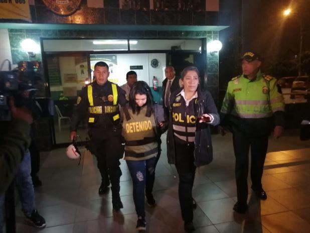 Policía detuvo a ciudadana extranjera por crímenes en hostal de San Martín de Porres