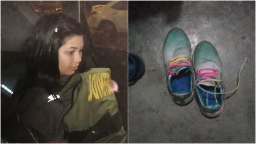 Crimen en SMP: quinta detenida fue identificada en una galería comercial por sus zapatillas