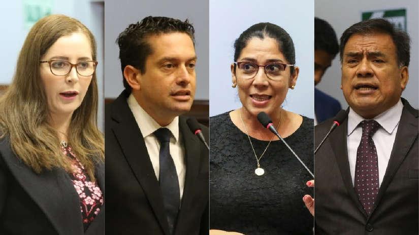 Revelan audio de congresistas de Fuerza Popular y Apra sobre elección del Tribunal Constitucional