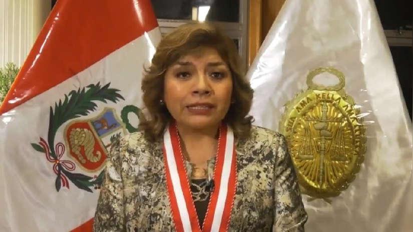 Zoraida Ávalos ratifica a Pablo Sánchez en investigación del caso 'Cuellos blancos'