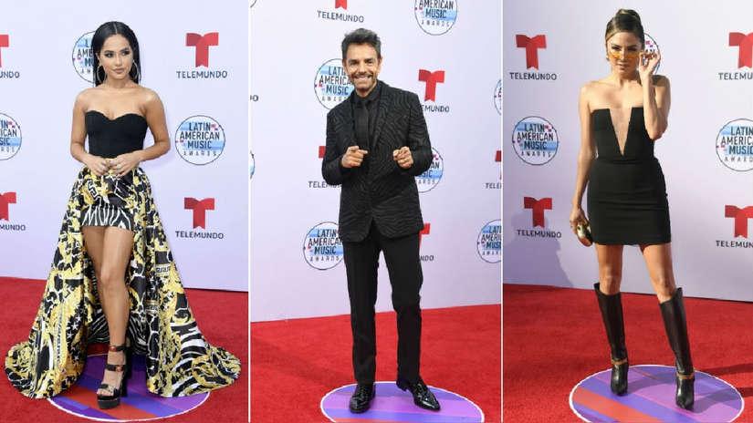 Latin AMAs 2019: Así fue el paso de las estrellas por la alfombra roja [FOTOS]