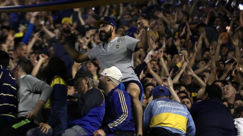 Boca Juniors vs. River Plate: las mejores imágenes de la previa del partido de vuelta por la Copa Libertadores en la Bombonera