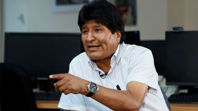 Evo Morales aseguró que tiene
