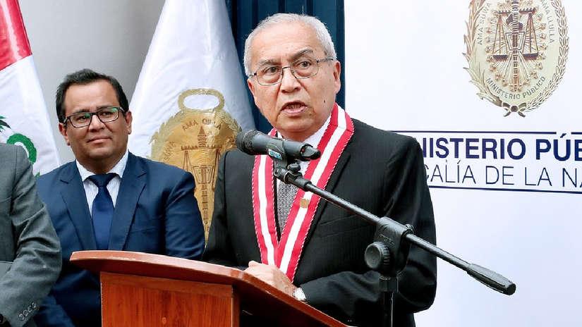 Poder Judicial admite a trámite pedido fiscal para suspender a Pedro Chávarry
