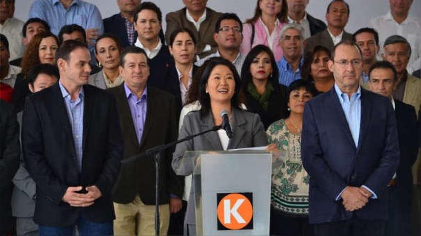 Poder Judicial dispone la incorporación de Fuerza Popular en investigación a Keiko Fujimori
