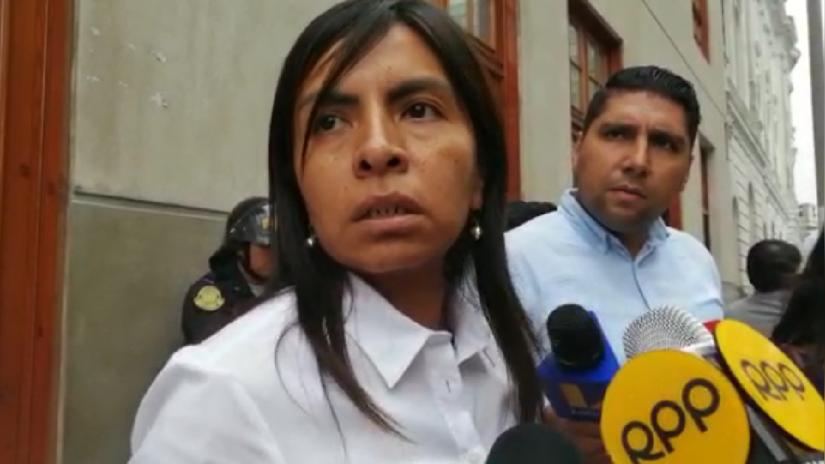 """Giuliana Loza: """"Keiko Fujimori trabaja en Fuerza Popular y no cobra de un fondo público"""""""