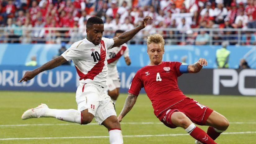 Selección Peruana: revive el debut de la bicolor ante Dinamarca en Rusia 2018