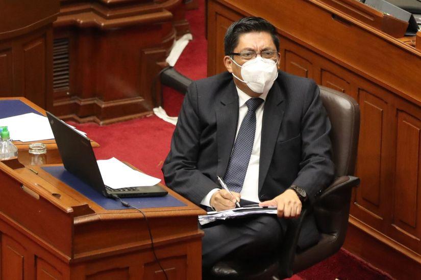 El Congreso otorgó el voto de confianza al gabinete de Vicente Zeballos