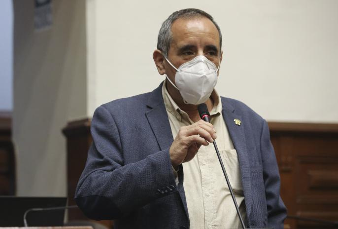 Vocero de Acción Popular rechazó la posibilidad de vacancia presidencial tras declaraciones de su colega de bancada