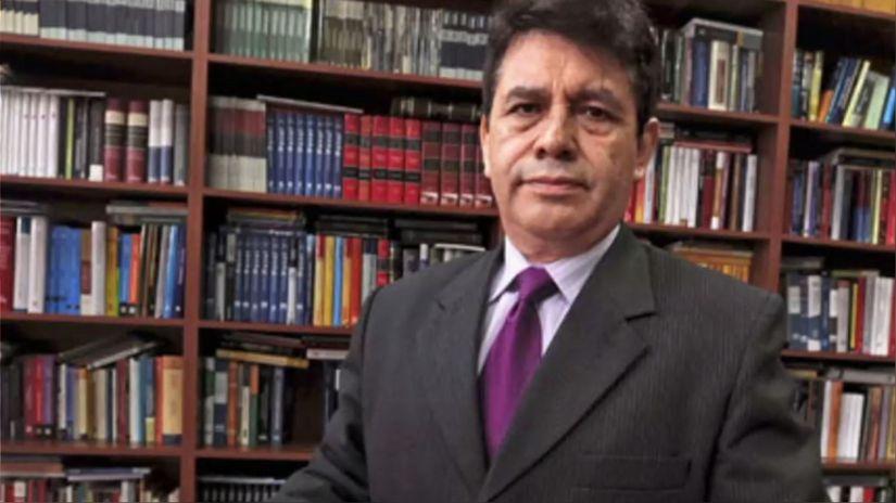Suspendido fiscal supremo Tomás Gálvez reaparece en actividad política de UPP [VIDEO]