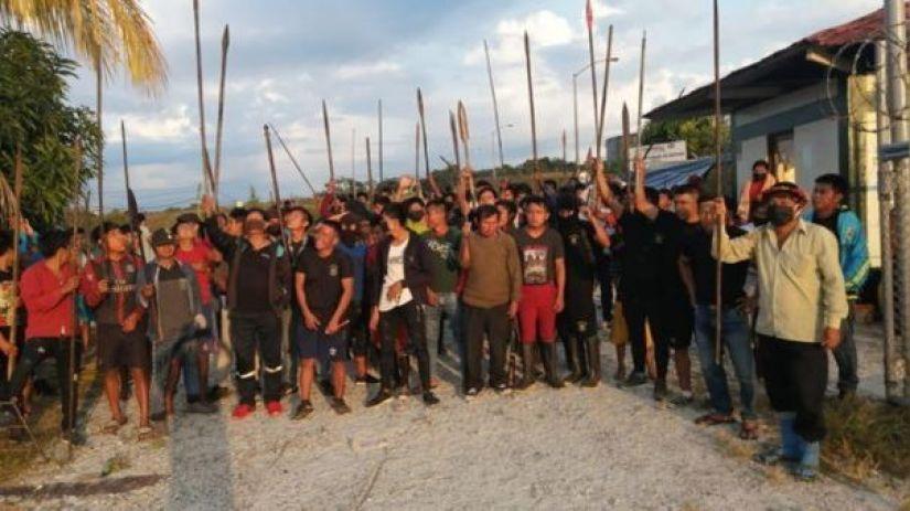 Mincul: Uno de los heridos en enfrentamiento entre indígenas y policías será trasladado a Lima
