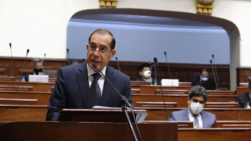 El Congreso otorgó el voto de confianza al Gabinete liderado por Walter Martos