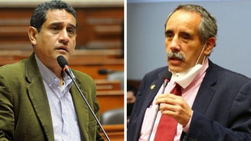 Mesías Guevara y Ricardo Burga exponen división en Acción Popular con enfrentamiento en Twitter