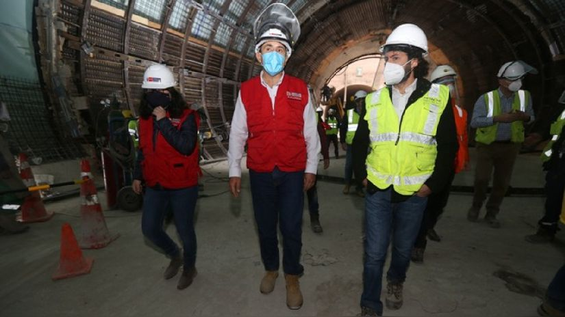 MTC estima que primera etapa de la Línea 2 del Metro de Lima opere antes de julio de 2021