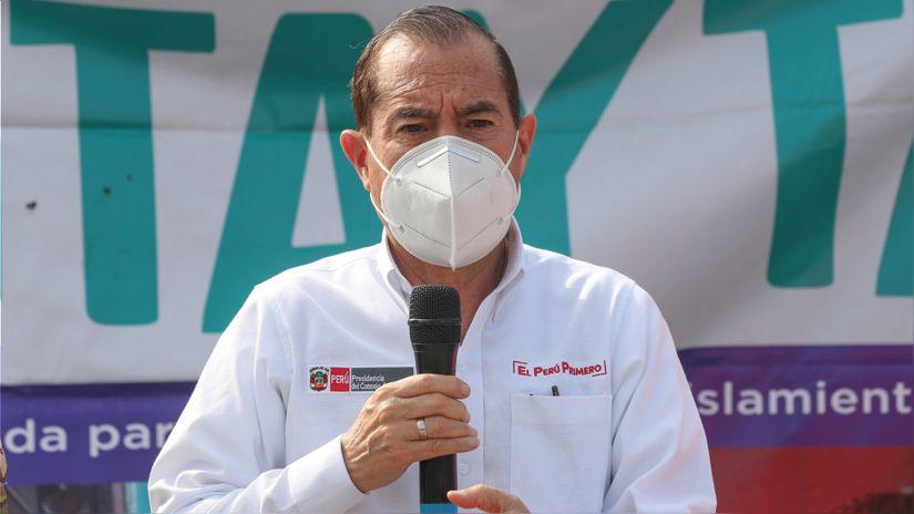 Walter Martos: Moción de vacancia busca colocar un Gobierno permisivo a intereses de algunos congresistas