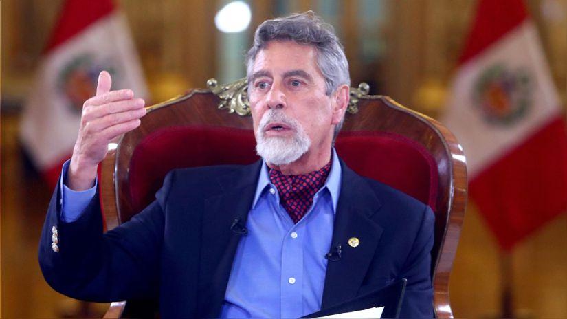 Francisco Sagasti: Protestar es legítimo, bloquear carreteras es un delito que el Estado no puede aceptar