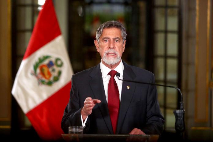 Francisco Sagasti anuncia que el Ejecutivo no observará derogatoria de la Ley de Promoción Agraria