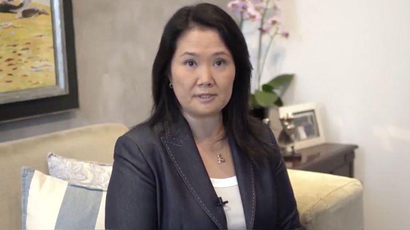 Keiko Fujimori anuncia que indultará a su padre si es elegida presidenta