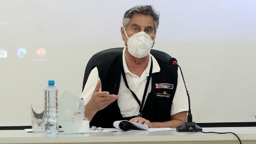 Francisco Sagasti: El próximo miércoles llegarán 117 mil vacunas de Pfizer como parte del mecanismo Covax Facility