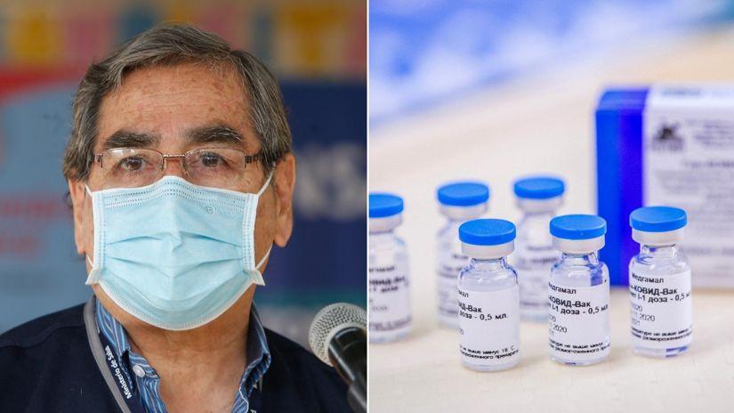 Óscar Ugarte: Hasta el momento Gamaleya no ha presentado un pedido de reconocimiento de la vacuna rusa