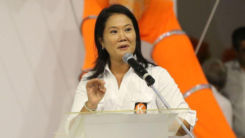Keiko Fujimori: Fuerza Popular no apoyará ninguna iniciativa que busque la vacancia del presidente