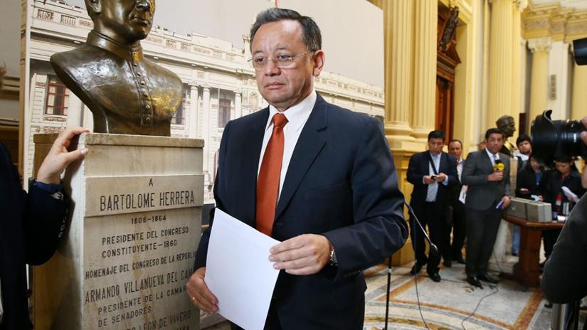 Comisión de Fiscalización eligió a Héctor Maquera como nuevo presidente, en reemplazo de Edgar Alarcón