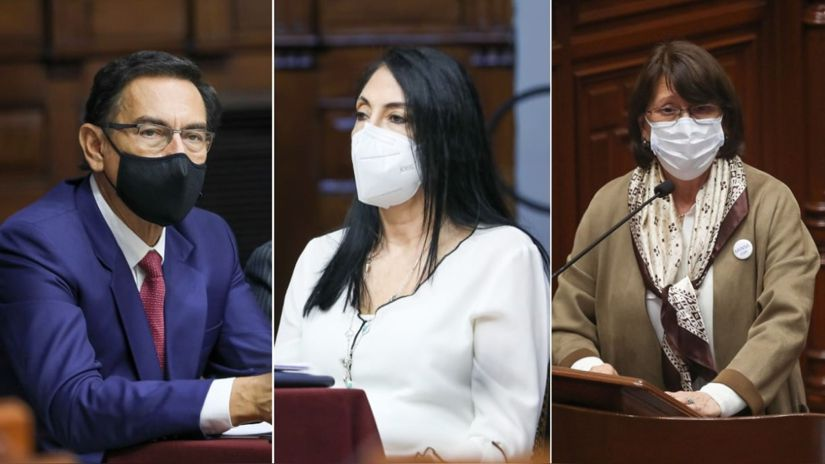 Comisión Permanente aprobó informe que busca inhabilitar a Martín Vizcarra, Pilar Mazzetti y Elizabeth Astete