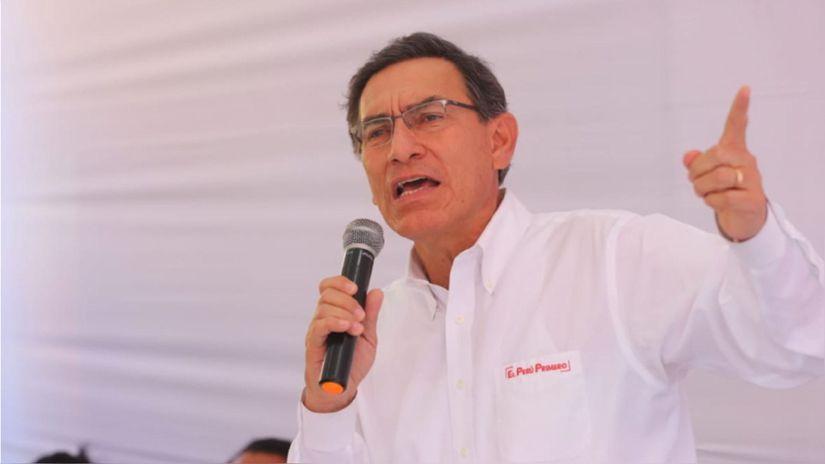 Martín Vizcarra: Congreso pretende eliminar a sus enemigos políticos