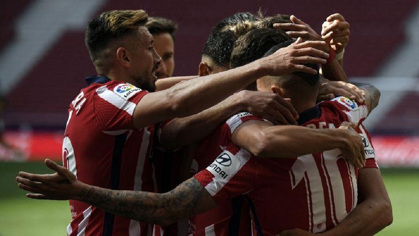 Atlético de Madrid goleó 5-0 a Eibar y se mantiene firme en la punta de LaLiga   RPP Noticias