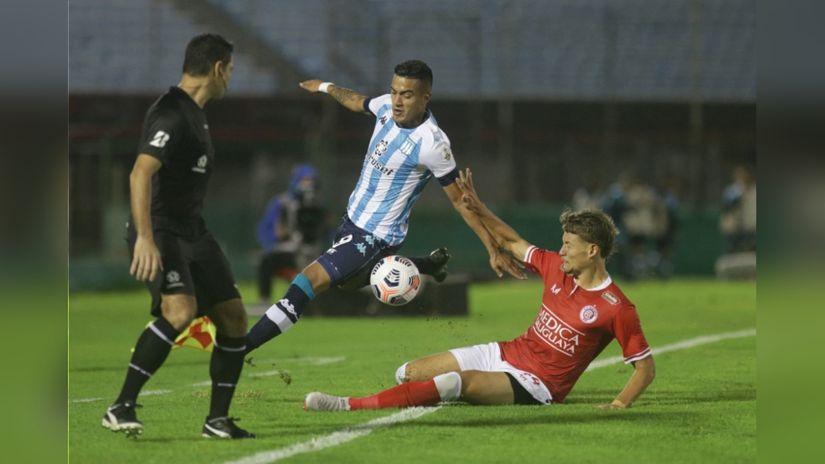 Resumen Rentistas Igualo 1 1 Racing Club Por La Primera Fecha Del Grupo E De La Copa Libertadores Video Rpp Noticias