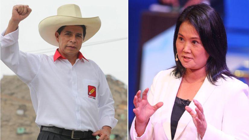 JNE: debate entre Pedro Castillo y Keiko Fujimori se realizará el 30 de mayo en el interior del país