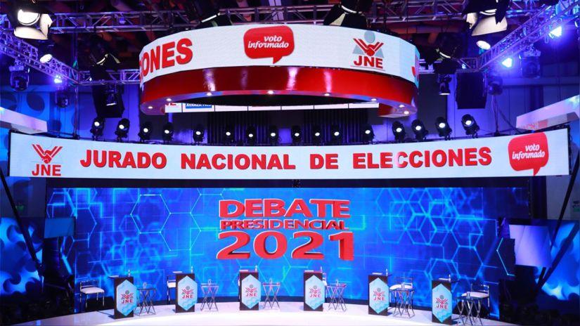 Estos son los seis temas establecidos para el debate presidencial establecido por el JNE