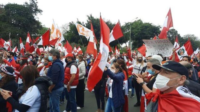 Violeta Bermúdez: Marchas no tienen garantías y no debieron convocarse, estamos en pandemia
