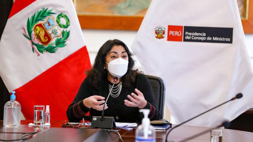 Violeta Bermúdez: No se puede insinuar que las FF.AA. tienen un afán golpista