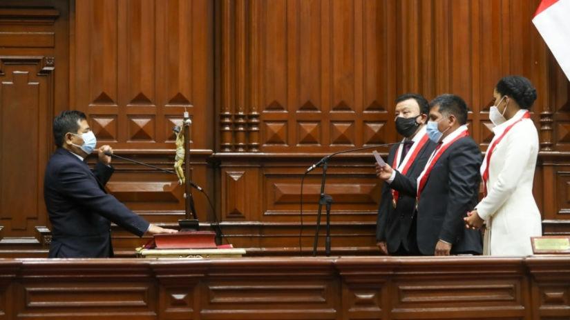 Se realiza la ceremonia de juramentación de los nuevos congresistas para el periodo 2021-2026