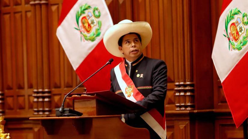 Pedro Castillo jura hoy como presidente de la República