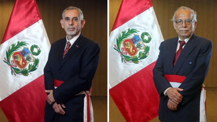 Pedro Castillo tomó juramento a Pedro Francke en Economía y Anibal Torres en Justicia