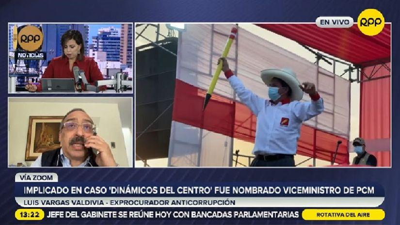 Luis Vargas Valdivia sobre designaciones del gabinete:
