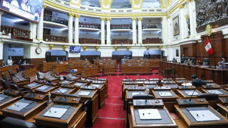 Pleno del Congreso aprobó texto sustitutorio para interpretar la cuestión de confianza