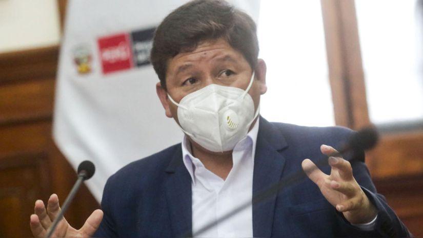 """Guido Bellido aseguró que hubo una """"contradicción"""" entre el vicecanciller y Pedro Castillo por el tema Venezuela"""