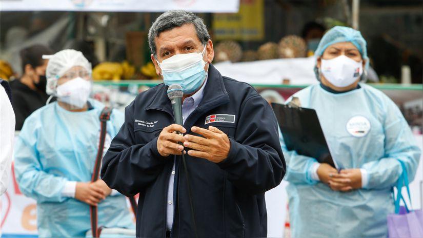 Ministro de salud revela que se han reportado los tres primeros casos de la variante Delta Plus en Ate
