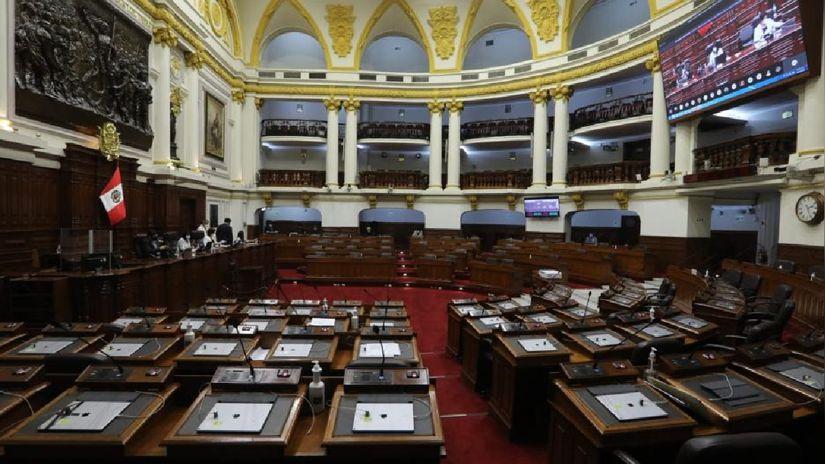 Pleno del Congreso aprobó por insistencia la ley que regula la cuestión de confianza