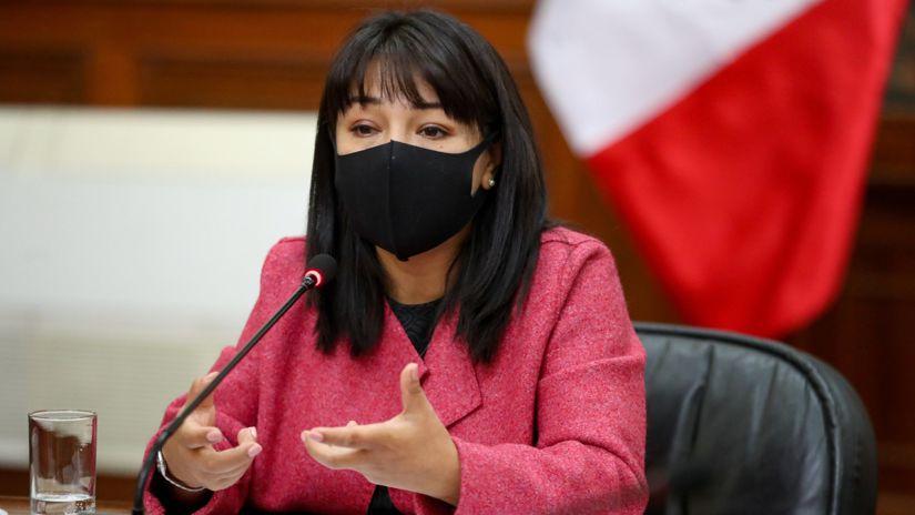 Mirtha Vásquezpide al Congreso debatir